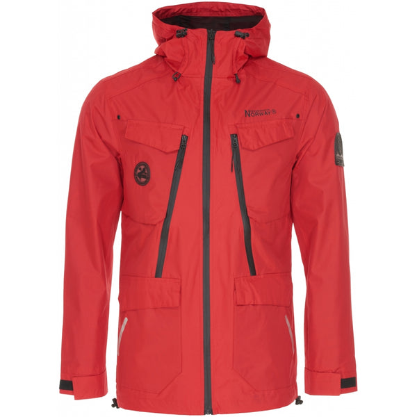 Geographical Norway GEOGRAPHICAL NORWAY jakke Herre ATTIRANCE Spring jacket Red