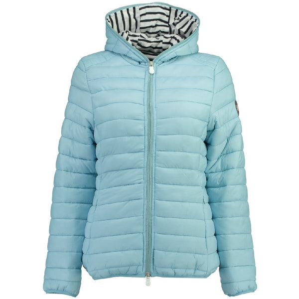 Geographical Norway GEOGRAPHICAL NORWAY vinterjakke Dame DINETTE LADY Winter jacket Light blue