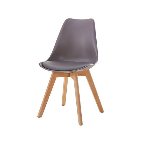 SCANDINAVE TULIPE CHAIR TAUPE 012