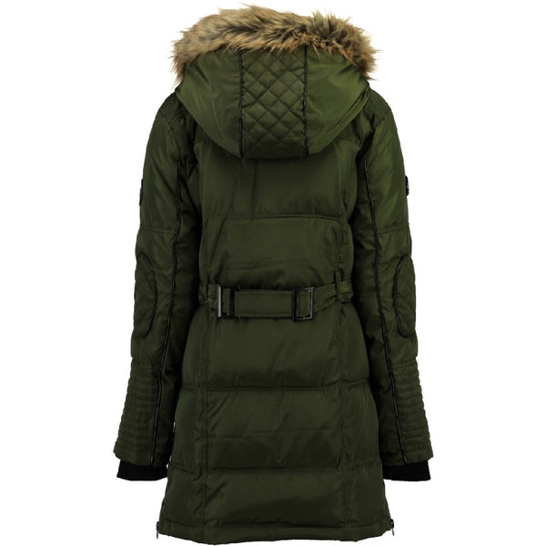 Geographical Norway Geographical Norway Dame Vinterjakke Belissima Winter jacket Khaki
