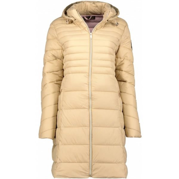 Geographical Norway GEOGRAPHICAL NORWAY Vinterjakke Dame BEALIZE Winter jacket Beige