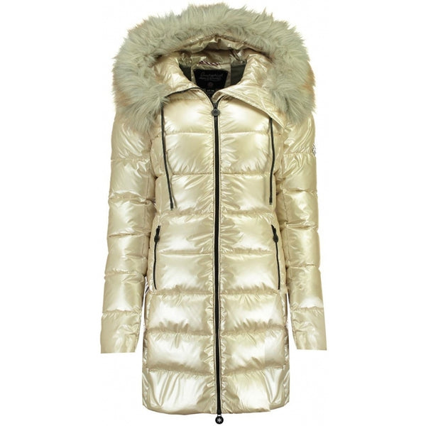 Geographical Norway Geographical Norway Dame Vinterjakke Briantissima Winter jacket Beige