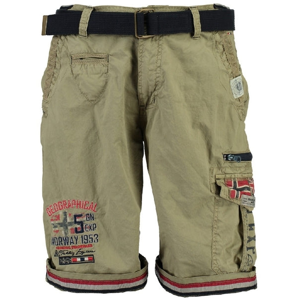Geographical Norway GEOGRAPHICAL NORWAY Shorts Herre PACOME Shorts Beige
