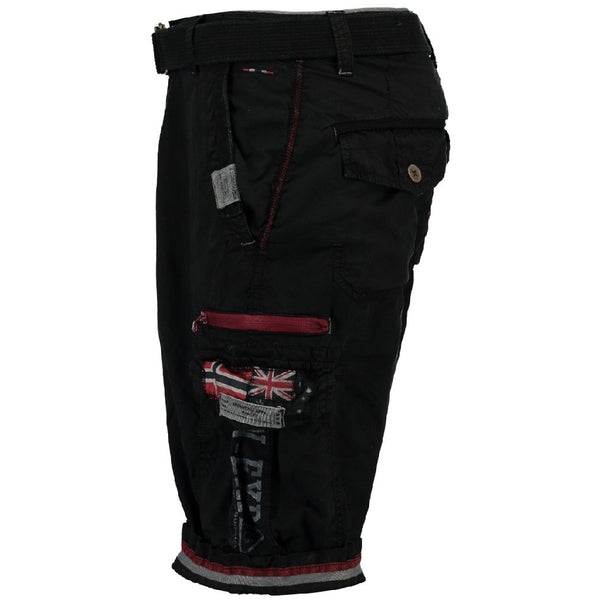 Geographical Norway GEOGRAPHICAL NORWAY Shorts Herre PACOME Shorts Black