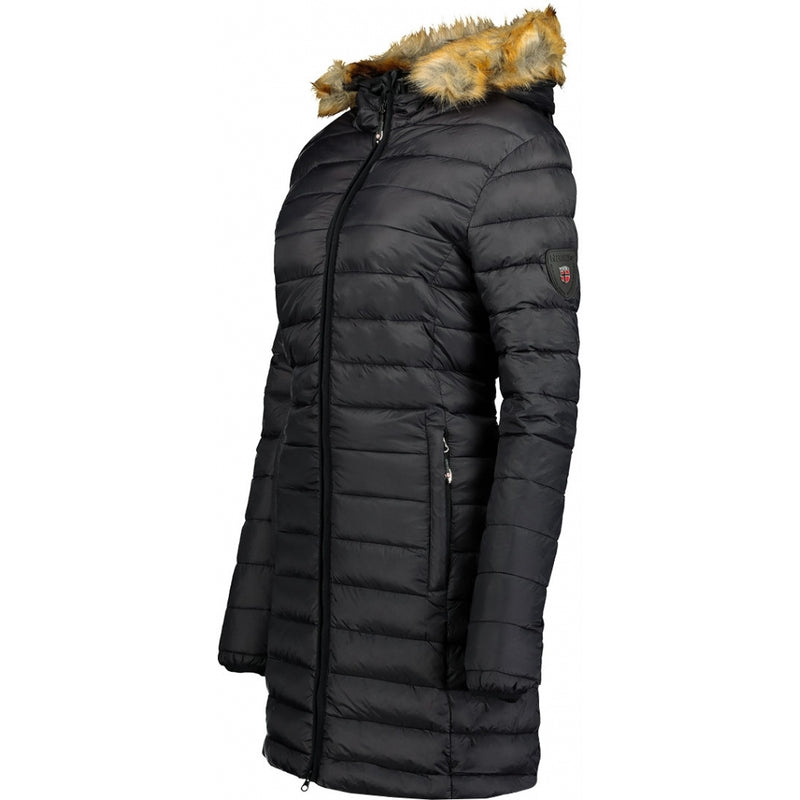 Geographical Norway Geographical Norway Dame Vinterjakke Clara Winter jacket Black