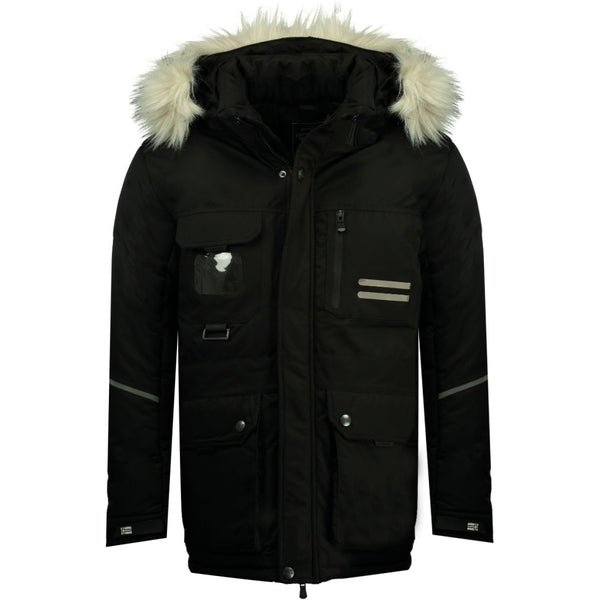 Geographical Norway Geographical Norway Herre Vinterjakke Davidway Winter jacket Black