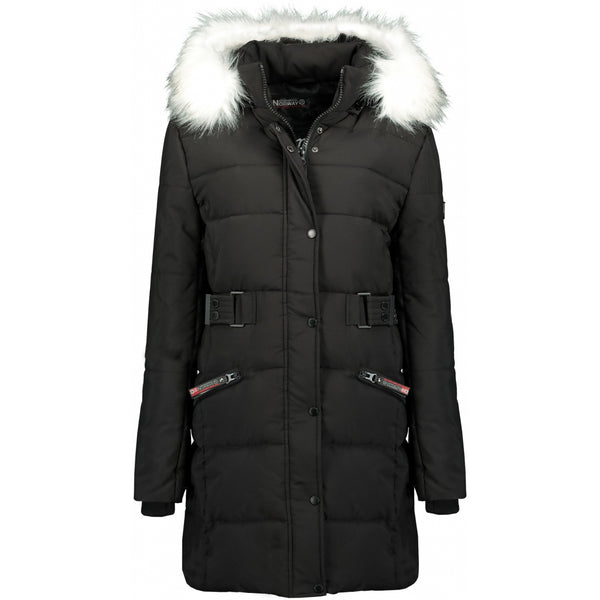 Geographical Norway GEOGRAPHICAL NORWAY jakke Dame Berte Winter jacket Black