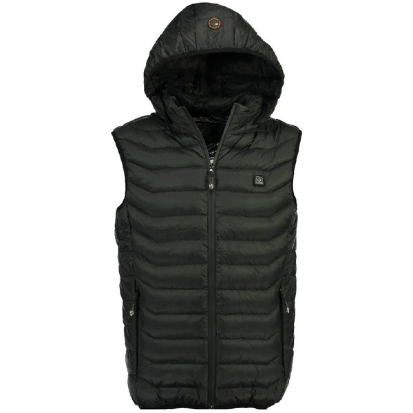 Geographical Norway GEOGRAPHICAL NORWAY Vest Herre WARM UP VEST MEN Vest Black
