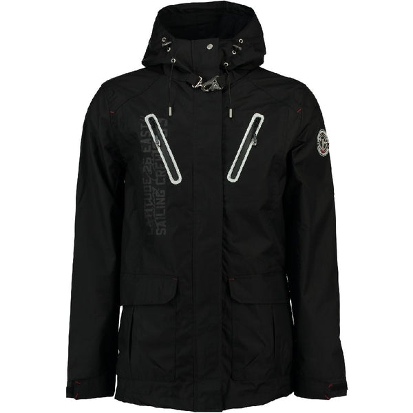 Geographical Norway GEOGRAPHICAL NORWAY Sommerjakke Herre BRETLING Spring jacket Black