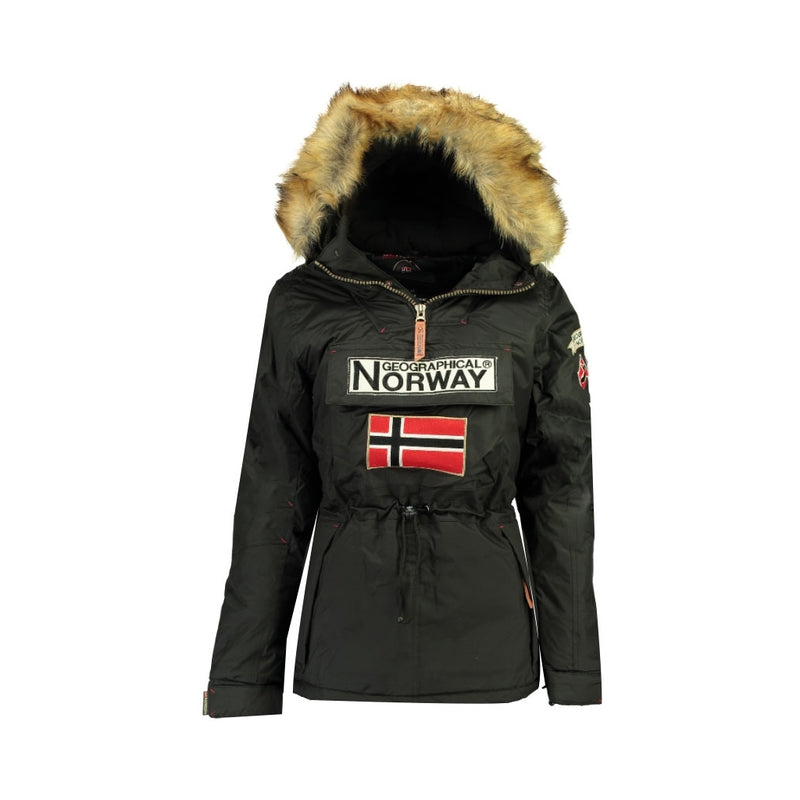 Geographical Norway GEOGRAPHICAL NORWAY vinterjakke Anorak Dame Bridget Winter jacket Black
