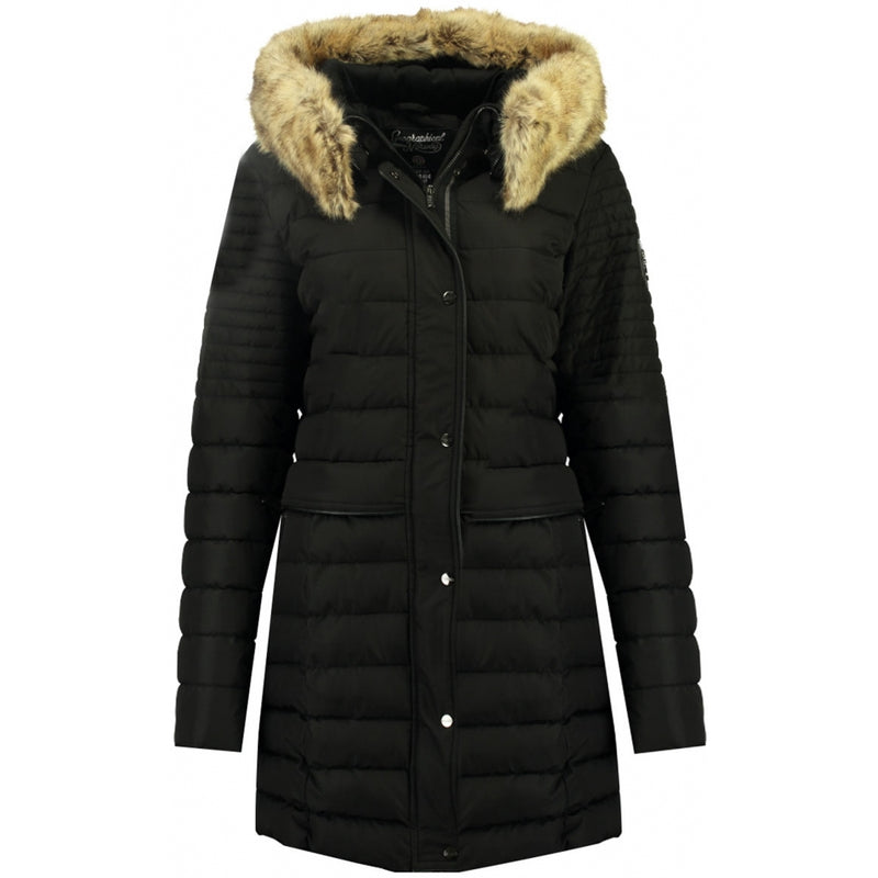 Geographical Norway GEOGRAPHICAL NORWAY Vinterjakke Dame CHARLIZE Winter jacket Black