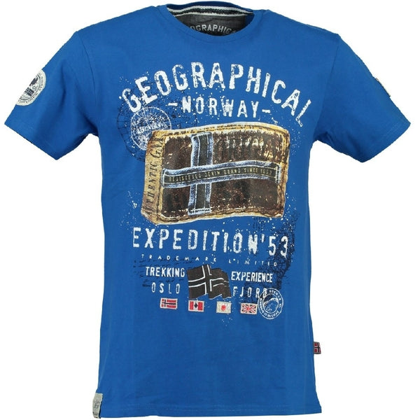 Geographical Norway Geographical norway børne tee jilliam T-shirt Blue