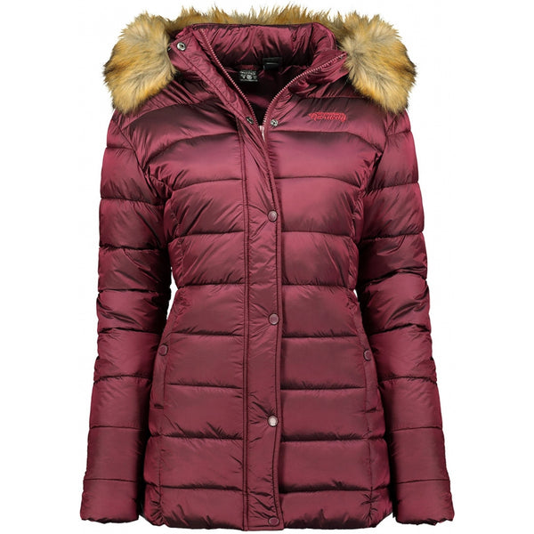 Geographical Norway GEOGRAPHICAL NORWAY Dame Vinterjakke Adela Winter jacket Burgundy