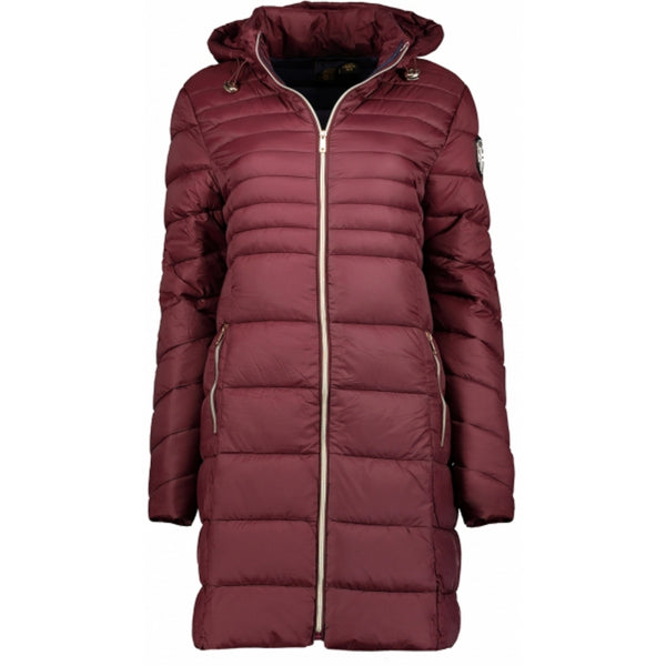 Geographical Norway GEOGRAPHICAL NORWAY Vinterjakke Dame BEALIZE Winter jacket Burgundy