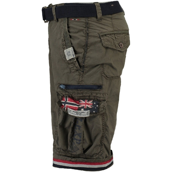 Geographical Norway GEOGRAPHICAL NORWAY Shorts Herre PACOME Shorts Dark Green