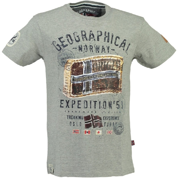 Geographical Norway Geographical norway børne tee jilliam T-shirt Grey