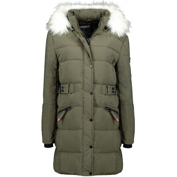 Geographical Norway GEOGRAPHICAL NORWAY jakke Dame Berte Winter jacket Khaki