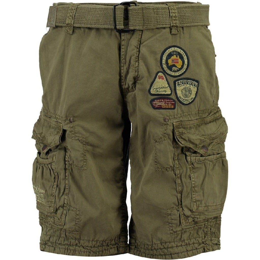 Image of   GEOGRAPHICAL NORWAY Shorts Herre PRESBUL - Mastic