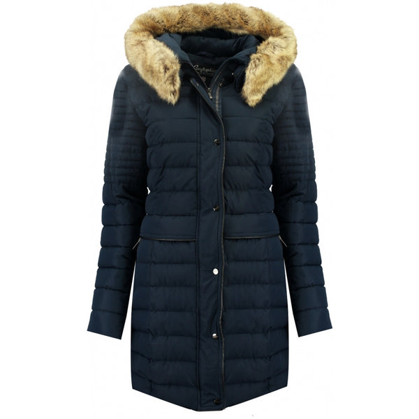 Geographical Norway GEOGRAPHICAL NORWAY Vinterjakke Dame CHARLIZE Winter jacket Navy