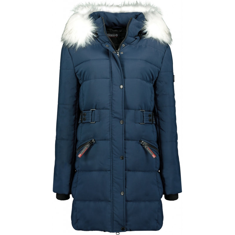Geographical Norway GEOGRAPHICAL NORWAY jakke Dame Berte Winter jacket Navy