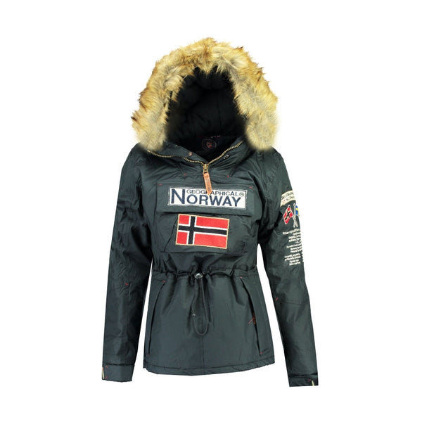 Geographical Norway GEOGRAPHICAL NORWAY vinterjakke Anorak Dame Bridget Winter jacket Navy