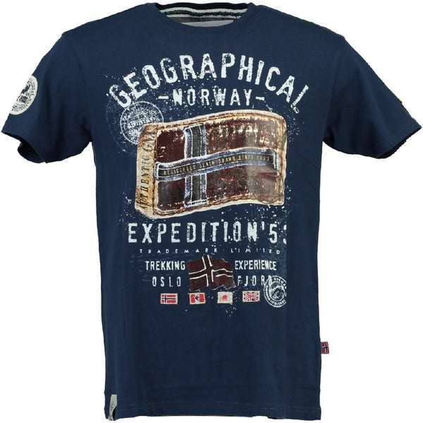 Geographical Norway Geographical norway børne tee jilliam T-shirt Navy