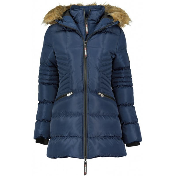 Geographical Norway GEOGRAPHICAL NORWAY Dame Vinterjakke BLIMB Winter jacket Navy