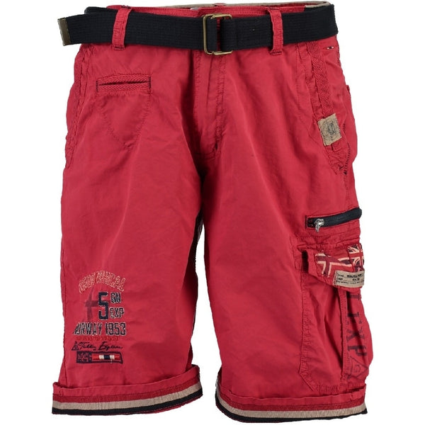 Geographical Norway GEOGRAPHICAL NORWAY Shorts Herre PACOME Shorts Red