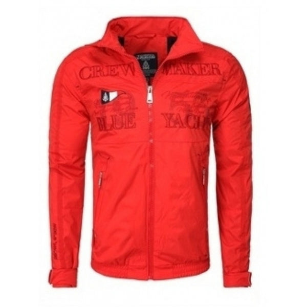 Geographical Norway GEOGRAPHICAL NORWAY Sommerjakke Herre CACAO Spring jacket Red