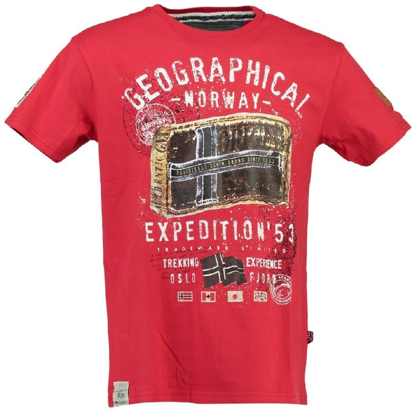 Geographical Norway Geographical norway børne tee jilliam T-shirt Red