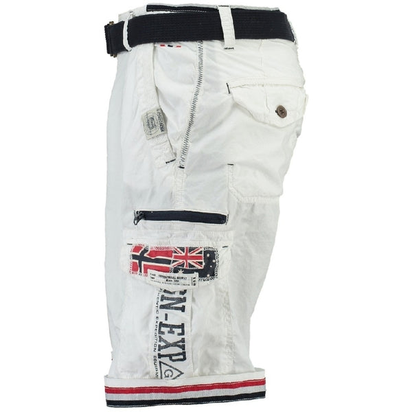 Geographical Norway GEOGRAPHICAL NORWAY Shorts Herre PACOME Shorts White