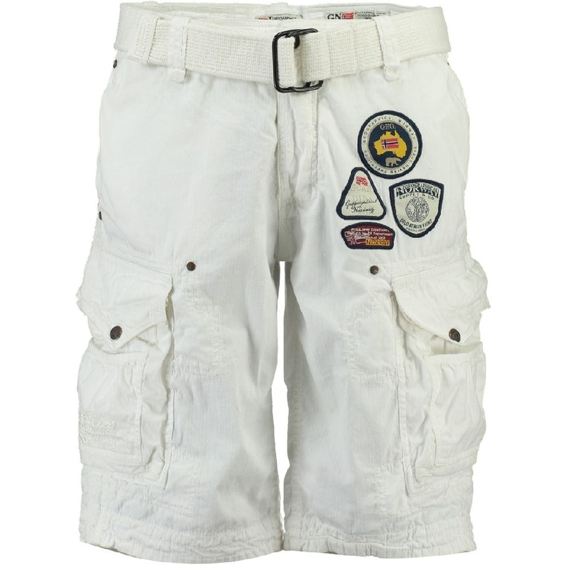 Geographical Norway GEOGRAPHICAL NORWAY Shorts Herre PRESBUL Shorts White