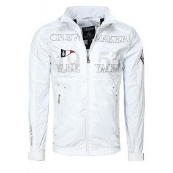 Geographical Norway GEOGRAPHICAL NORWAY Sommerjakke Herre CACAO Spring jacket White