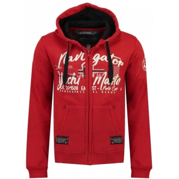 Geographical Norway GN SWEATSHIRT GAICOR Sweatshirt Red