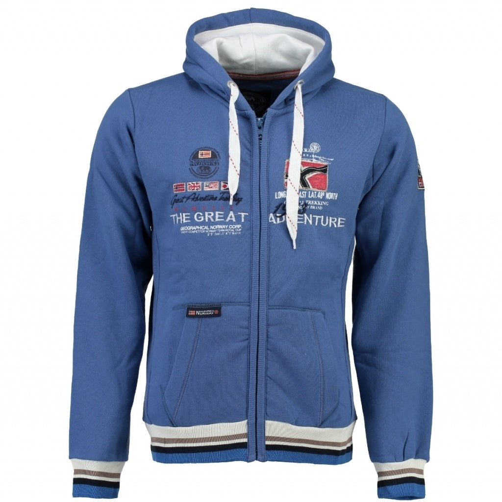 Image of   Geographical Norway Børn Sweatshirt Grenouille - Blue - 10Y