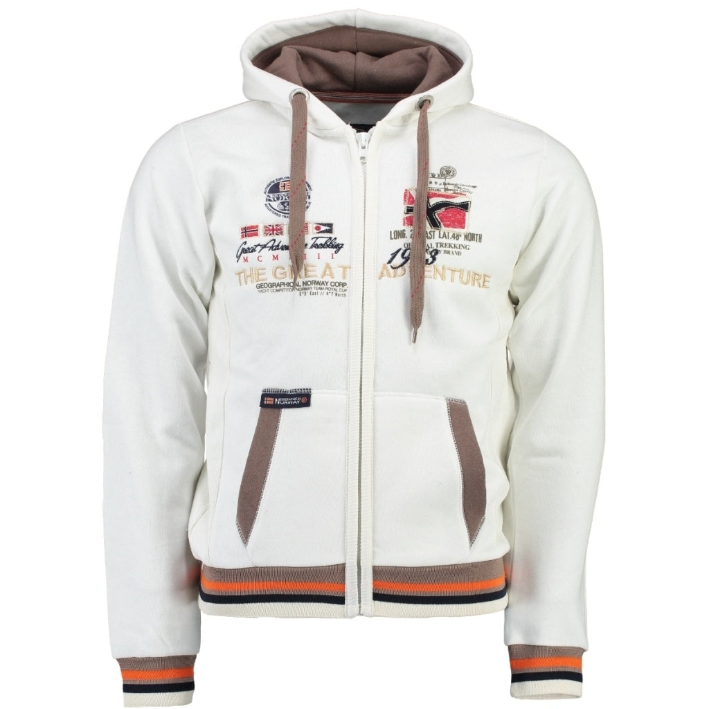 Image of   Geographical Norway Børn Sweatshirt Grenouille - Off White - 10Y