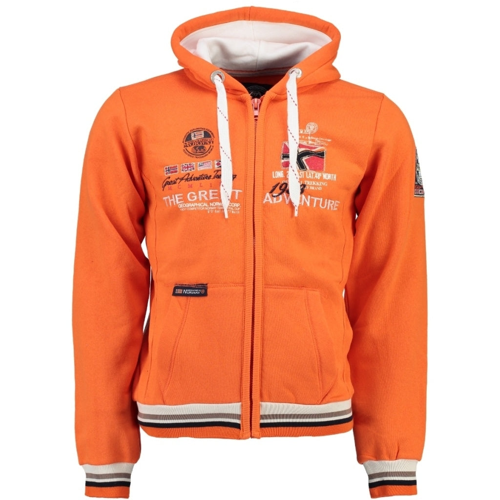 Image of   Geographical Norway Børn Sweatshirt Grenouille - Orange - 10Y