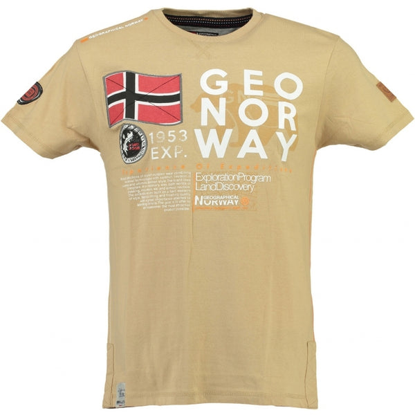 Geographical Norway Geographical Norway Børn Tee Jasado T-shirt Beige