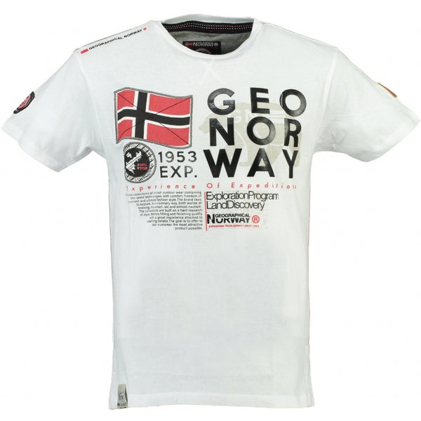 Geographical Norway Geographical Norway Børn Tee Jasado T-shirt White