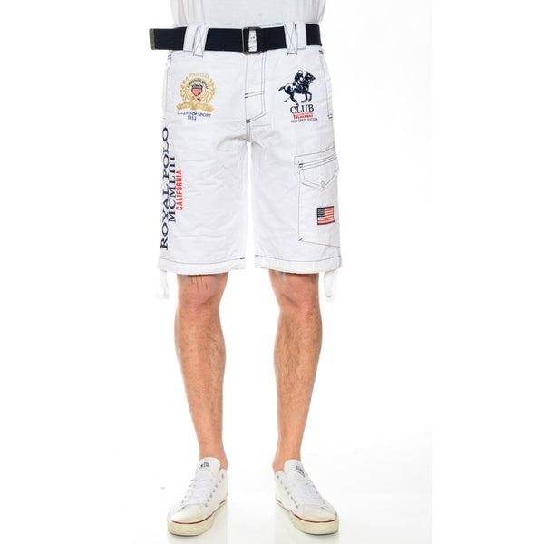 Geographical Norway Geographical Norway Børne Shorts Pringles Shorts White