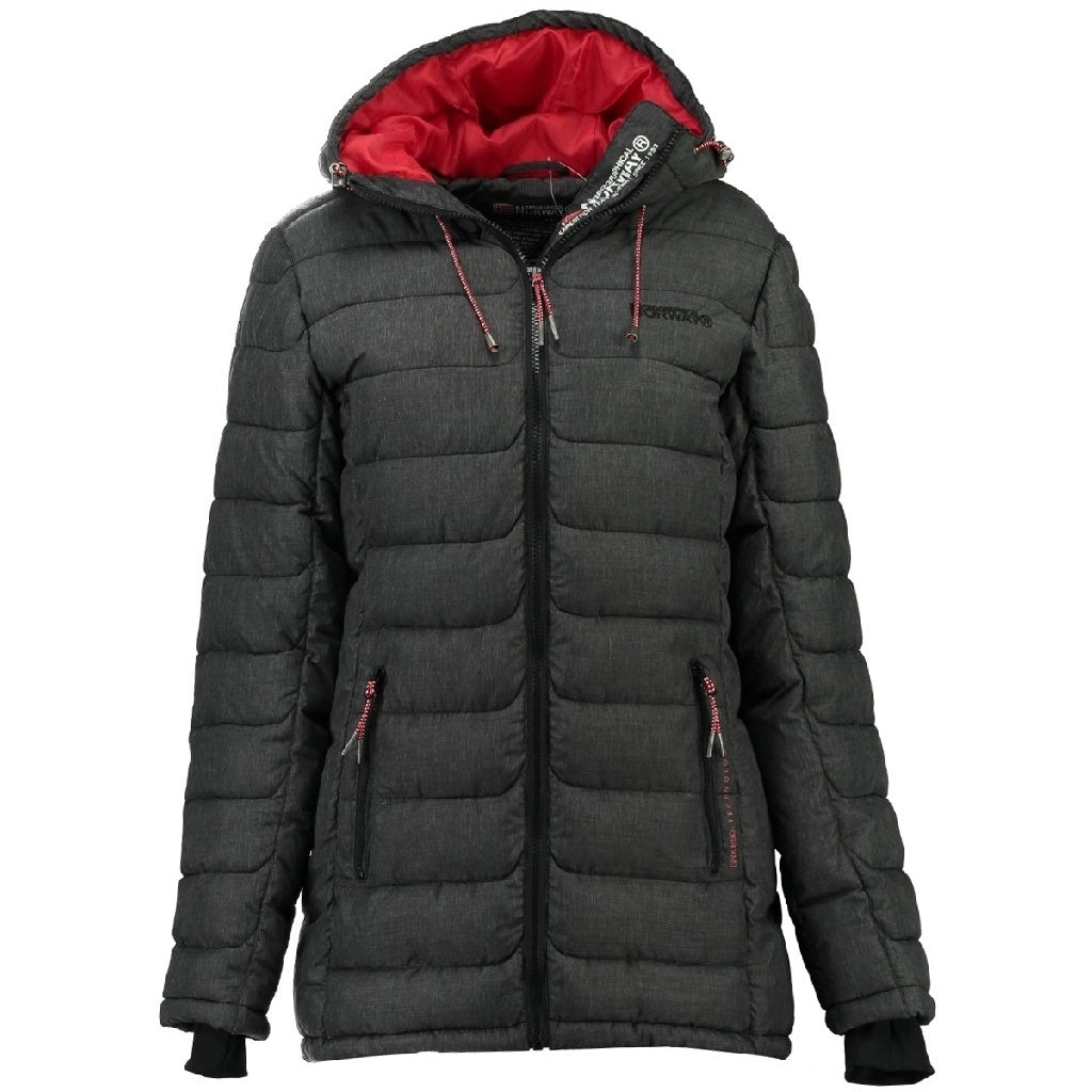 Image of   Geographical Norway Børne Vinterjakke Astana kids - Grey Anthracite - 8Y