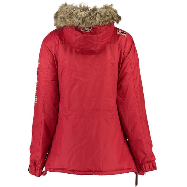 Geographical Norway Geographical Norway Dame Anorak Vinterjakke Boomera Winter jacket Red