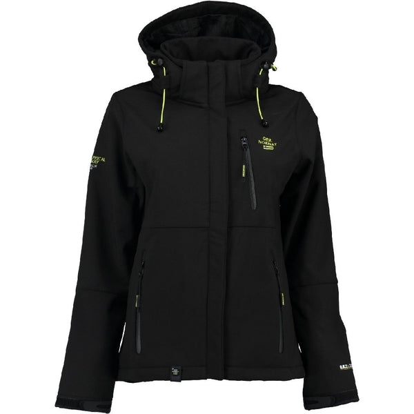 Geographical Norway Geographical Norway Dame Softshell Jakke Touna Softshell Black