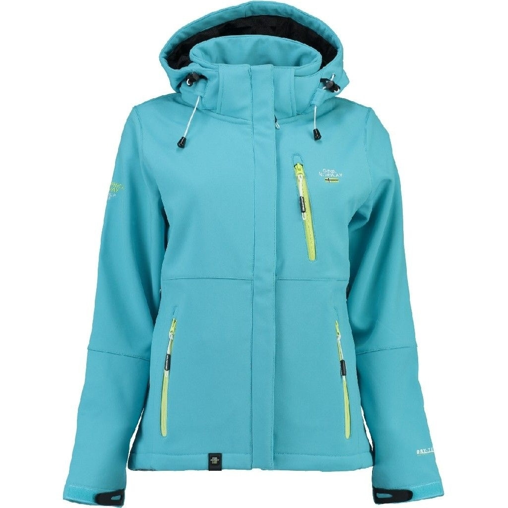 Image of   Geographical Norway Dame Softshell Jakke Touna - Blue - XXL