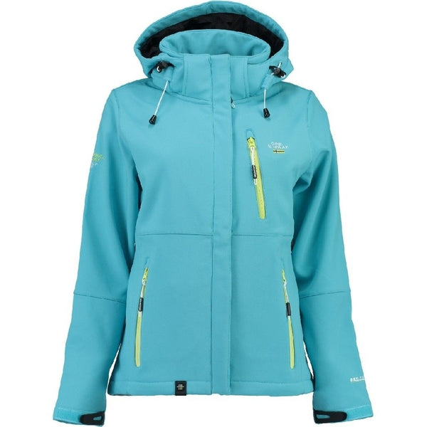 Geographical Norway Geographical Norway Dame Softshell Jakke Touna Softshell Blue