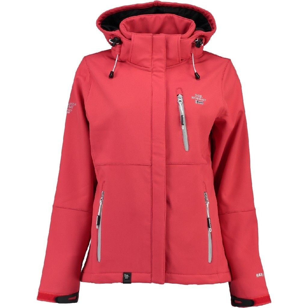 Image of   Geographical Norway Dame Softshell Jakke Touna - Coral - M