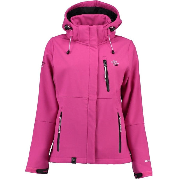 Geographical Norway Geographical Norway Dame Softshell Jakke Touna Softshell Pink