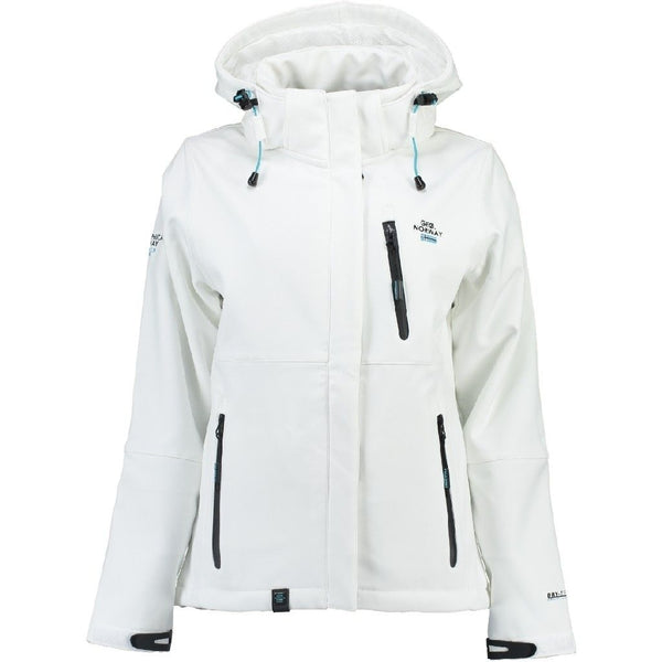 Geographical Norway Geographical Norway Dame Softshell Jakke Touna Softshell White