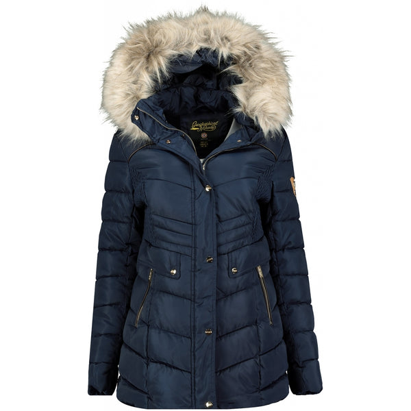 Geographical Norway Geographical Norway Dame Vinterjakke Badonna Winter jacket Navy