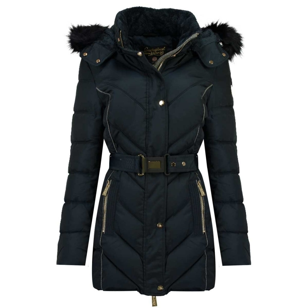 Image of   Geographical Norway Dame Vinterjakke Becky - Navy - L